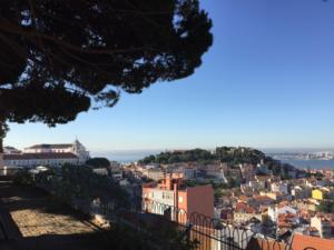 Lisbon, Portugal Hill View Park