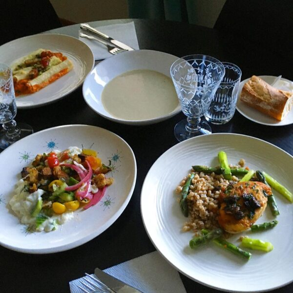 Rivoli Berkeley Take Out Full Meal