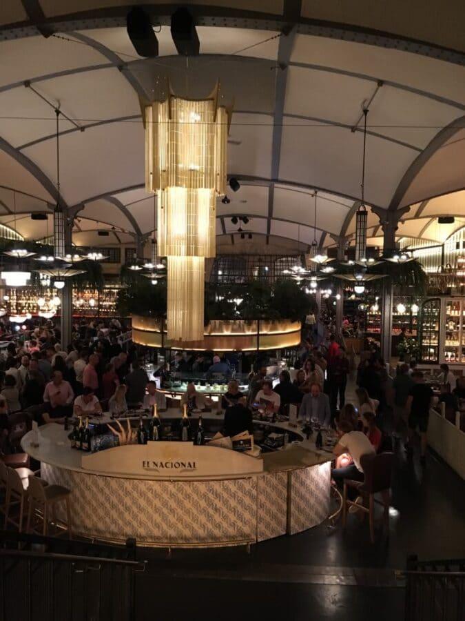 El Nacional Food Market - Barcelona, Spain