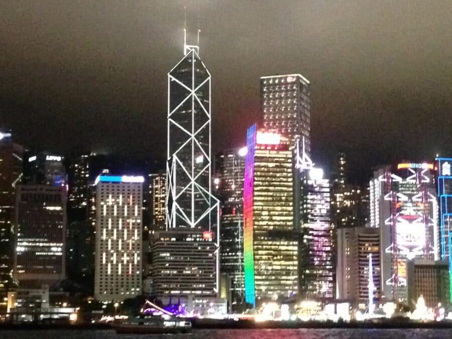 Harbor Lights, Hong Kong