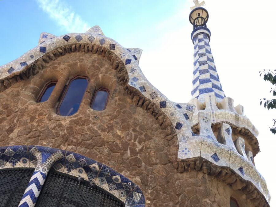 Park Guell Gaudi Building - Barcelona, Spain