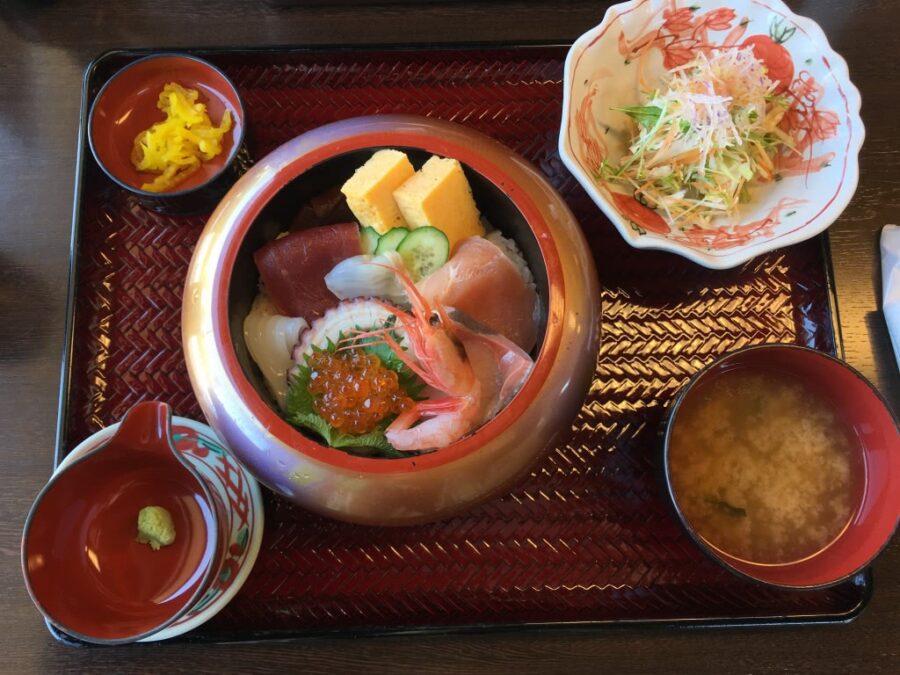 Seafood in Kanazawa, Japan